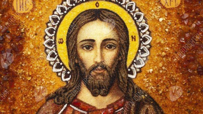 Икона с Иисусом