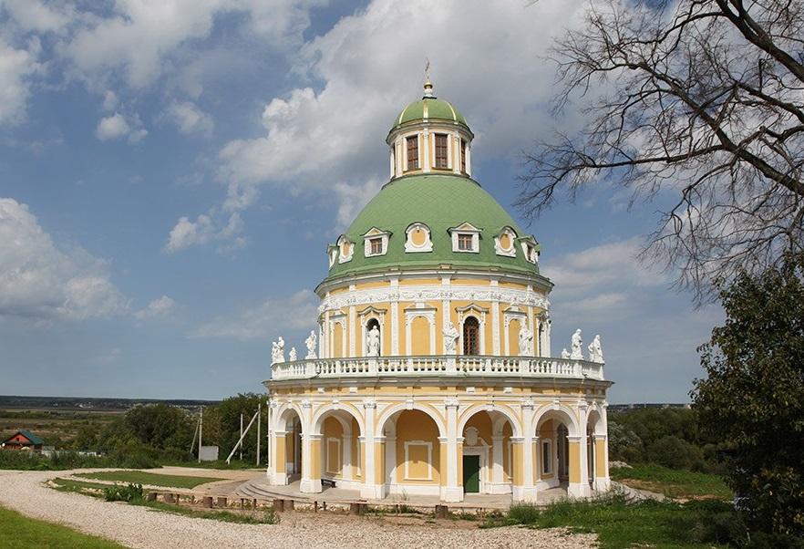 храм в форме круга
